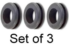 GeetarGizmos BOSS PEDAL GROMMET SET OF 3 O-ring Gasket for Boss Guitar Pedals