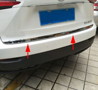 Steel Rear Tail Trunk Lid Cover Strips For Lexus NX200t NX300h 2015-2019 Parts