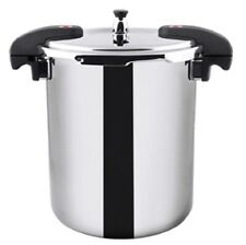 NEW Buffalo Clad Quick Pot Stainless Steels Pressure Cooker Canner 20L