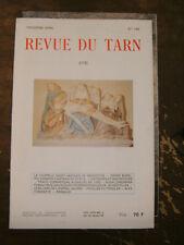 Revue du Tarn N°146 1992 Saint Jacques de Monestiès P. Borel Cathares Rimbaud