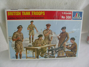 toy soldiers- British Tankers kit