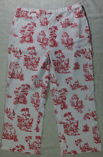 SIZE 12, PATTERN CAPRI PANTS BY KATHY IRELAND!