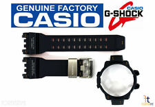 CASIO G-Shock Gravity Master GPW-1000-2A NAVY BLUE Rubber Watch BAND & BEZEL