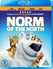 New & Sealed Norm Of The North Blu Ray Kids Childs Christmas UK PAL Region B