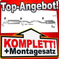 Auspuff VW T5 TRANSPORTER V 1.9 TDI PRITSCHE SWB-Kurz 04-09 Auspuffanlage M17
