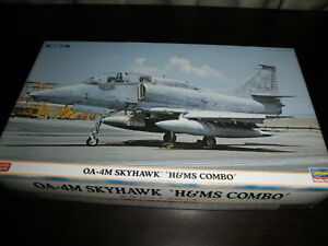 1/72 OA-4M SKYHAWK H &MS Comb OUTLAWS US Air Force Fighter by Hasegawa- 2 kits!!