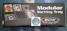 BCW Modular Sorting Tray For Sports & Gaming Cards (6 Trays Per Box) NEW