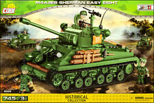 "COBI Sherman M4A3E8 ""Easy Eight"" (2533) - 745 elem. - WWII US medium tank"