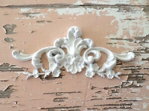 SHABBY & CHIC ROSE FURNITURE APPLIQUES ARCHITECTURAL FLORAL CENTER  FLEXIBLE
