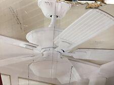 Home Decorators marshlands Led 52 Ceiling Fan outdoor white 1001 029 006