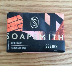Soapsmith Brick Lane Hand Made Soap 100g ~ Amber, Pepper & Sandalwood