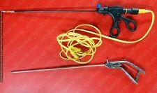 2pc Laparoscopic Bipolar Robycable Gun Type Needle Holder 5mmx330mm Instrument