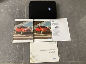FORD ECOSPORT (2012-2018) HANDBOOK OWNERS MANUAL PACK IN WALLET PRINTED 2013
