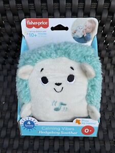 Fisher-Price Calming Vibes Hedgehog Soother NEW FAST SHIPPING