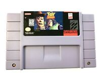 TOY STORY Super Nintendo SNES Game Tested -  Working - Authentic!