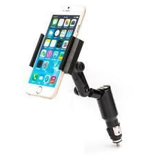 iPhone 11, Pro, Max CAR MOUNT CHARGER PLUG SWIVEL HOLDER WITH USB PORT DOCK N4V