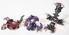 Sega Toys Baku Tech Bakugan Sha Nozchi, Hollow Munikis, Mika Laurel Set