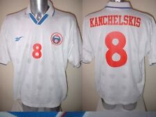 Russia Kanchelskis Shirt Jersey Football Soccer Adidas Adult XL 1996 Man Utd Top