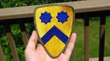 Original WWII US Army 2nd Cavalry Green Back GB Division Patch SSI Gemsco