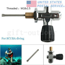 New M18x1.5 Thread High Pressure K Valve Scuba Diving For Air Tank Paintball Pcp