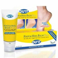 Du'It Foot & Heel Balm Plus 50mL for Dry Cracked Skin Relief and Dry Rough Feet