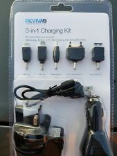 Micro USB 3in1 Mains, In-Car and USB Charger [Blister]