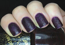 OPI NAIL POLISH Lacquer in VESPER ~ James Bond Collection Purple Liquid Sand