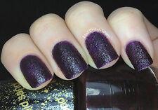 OPI NAIL POLISH Lacquer in VESPER ~ James Bond Collection Purple Liquid Sand