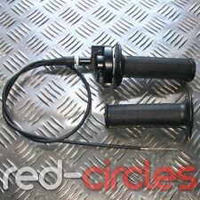 PIT Dirt Bike rápida acción del acelerador Twist apretones & Cable Set 125cc 140cc pitbike