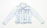 Denim Co Womens Size 12 Denim Blue Jacket