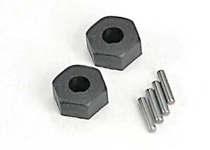 TRAXXAS 1654 12mm Hex Stub Axle Pin & Collar Set