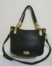 Michael Kors Bedford black leather small/medium shoulder crossbody bag