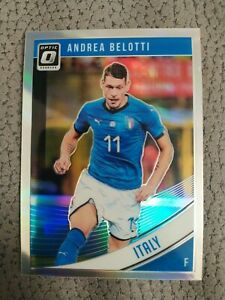 Panini donruss soccer 2018/19 Andrea Belotti optic holo silver prizm n144 italia
