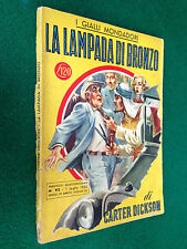 Carter DICKSON - LA LAMPADA DI BRONZO ,  il Giallo Mondadori 92 (1950) Rex Stout
