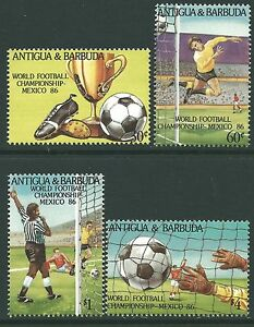 Antigua 1986 - Sports World Cup Soccer Championships Mexico 86 - Sc 915/8 MNH