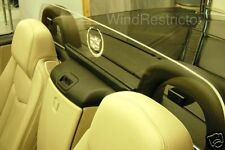 Cadillac XLR Windrestrictor® brand wind deflector screen block etched & lighted