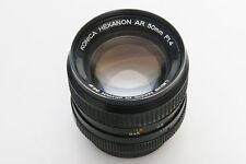 Konica Hexanon 50mm f1.4 lens