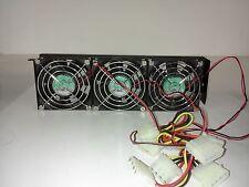Rack Fan, 120mm AC, for Server Rack Cabinet WA-3FAN-120AC