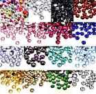 Wholesale Lots 3MM 4MM 5MM 6MM 7MM 8MM DIY Crystal Round Flat Back Rhinestones