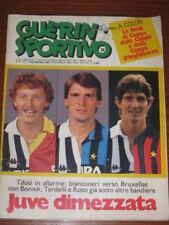 GUERIN SPORTIVO 1985/21 LIVERPOOL JUVENTUS FINAL EUROPEAN CUP VERONA CAMPIONE