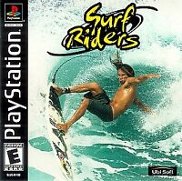 Surf Riders Playstation PS1 Complete CIB PERFECT DISC VERY Fast Ship World!!!