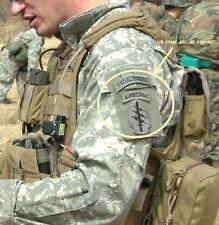 ISAF ELITE PROFESSIONAL SPECIAL FORCES AIRBONE ACU SHOULDER SLEEVE INSIGNIA SET