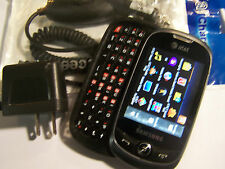 GOOD!!! Samsung FLIGHT 2 SGH-a927 Touch QWERTY Camera GSM Slider AT&T Cell Phone