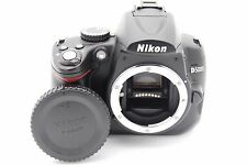 Nikon D5000 12.3MP 6.9cmSCREEN Digital SLR Camera Corpo W/Batteria
