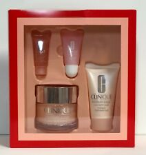 Clinique More Than Moisture Gift Set 72-Hr Moisture Surge Mask Eye Lip Plump New