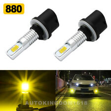 880 889 Led Fog Light Newest Version 3570 Csp-Chips Fog Bulb Yellow 110W 16000Lm