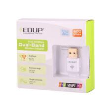 EDUP Wireless USB Wifi Adapter 11AC AC600M Dual Band 2.4G/5G for Laptop Desktop