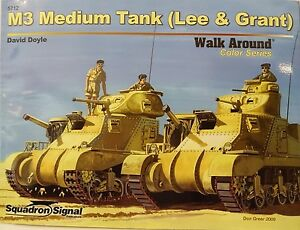 "Special Item M3 Lee & Grant, Squadron Signal "" Walk Around Color "", Magazine New"