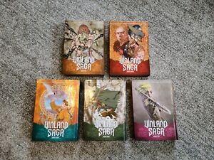 Vinland Saga: Vol. 6-10 by Makoto Yukimura Hardcover - EXCELLENT CONDITION!