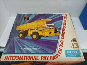 ERTL International Pay Hauler 350 Construction Truck Model Kit 1/25